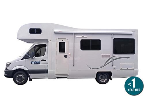 Maui River Elite Campervan Hire Australia