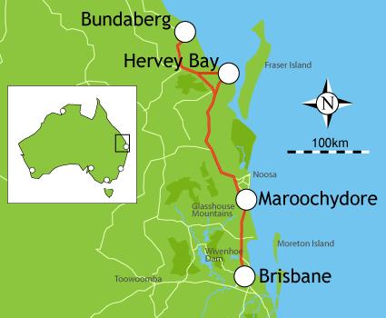 Cruisin Ocean City >> Campervan Hire Brisbane - 5 Day Itinerary