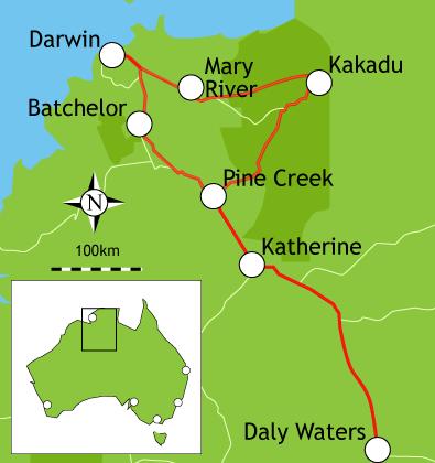 Campervan Hire Darwin - 10 Day Itinerary on kakadu park australia, map of kahala, national parks of australia, living in australia, map of kangaroos,