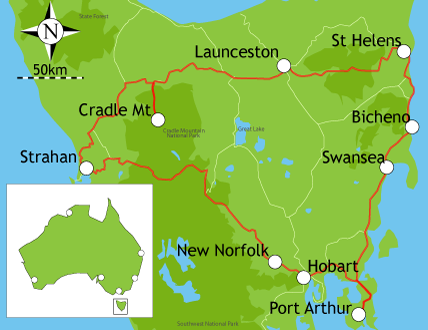 Campervan Hire Hobart - 10 Day Itinerary